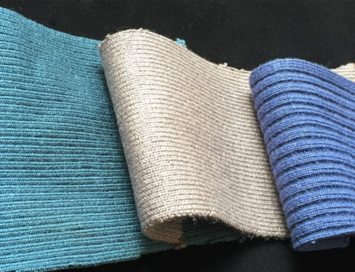 What are the differences between flat knitted trims and round knitted trims